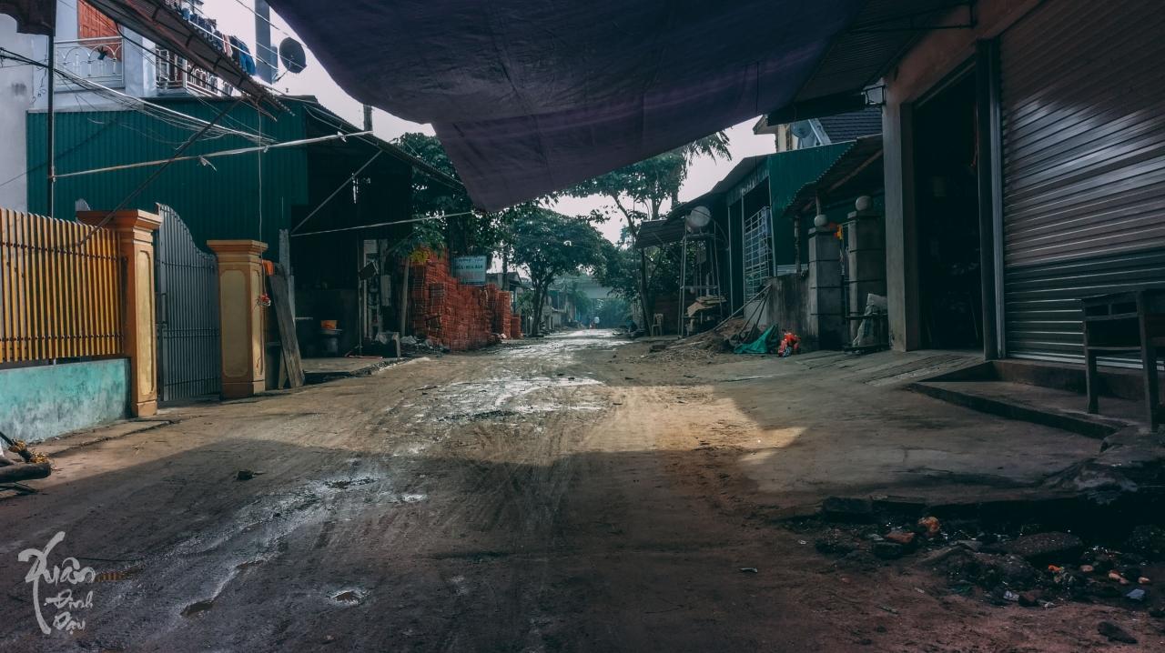 xóm chợ ngày Tết