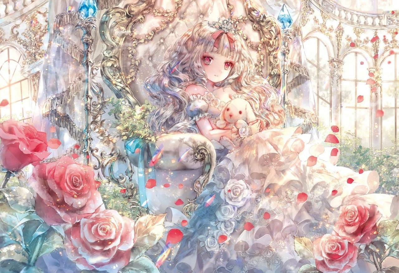 epoch-jigsaw-puzzle-fantasic-art-onineko-white-princess-story-300pcs-epc63073-by-epoch-918